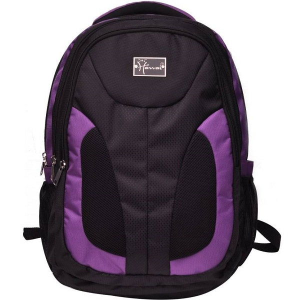 Hawai Polyester Dual Shade Backpack