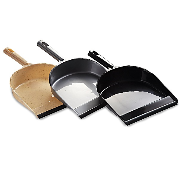 All Time 3 Piece Plastic Dust Pan