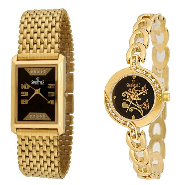 Swisstyle Gold Plated combo for couple