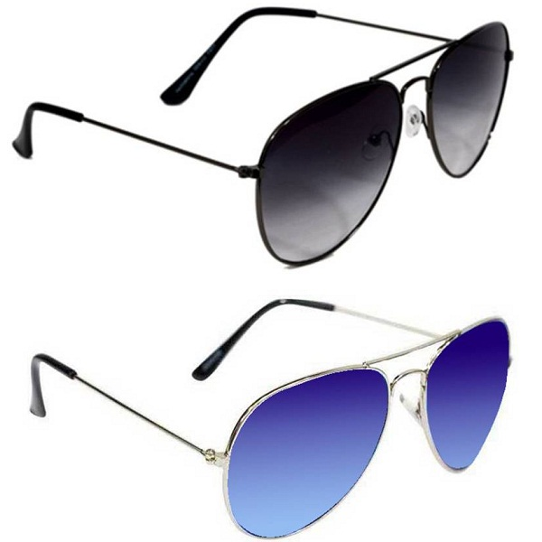 Epic Ink com2163 Aviator Sunglasses