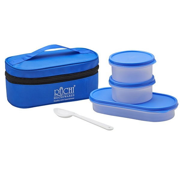 Ruchi Food Fresh Plastic Tiffin Set