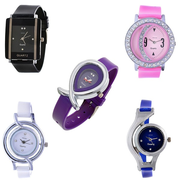 Horse Head 5 Combo Analog Multicolor Dial womens watch