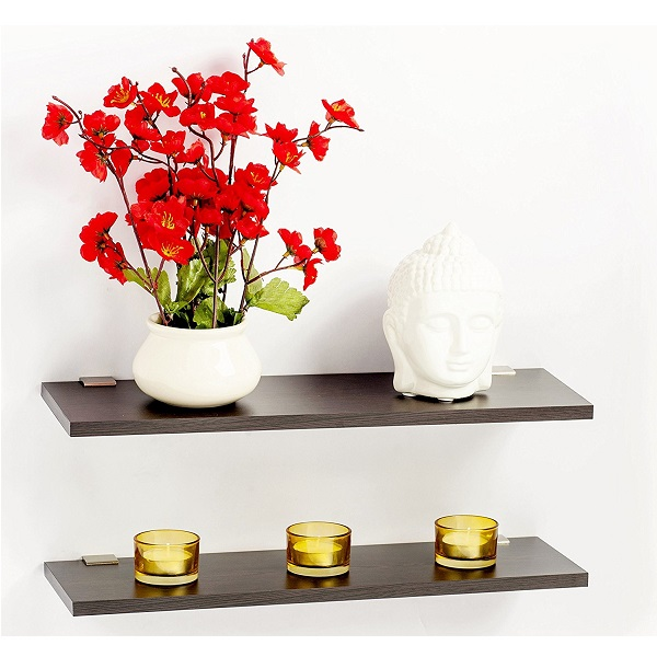 Bluewud Wall Shelf And Display Rack