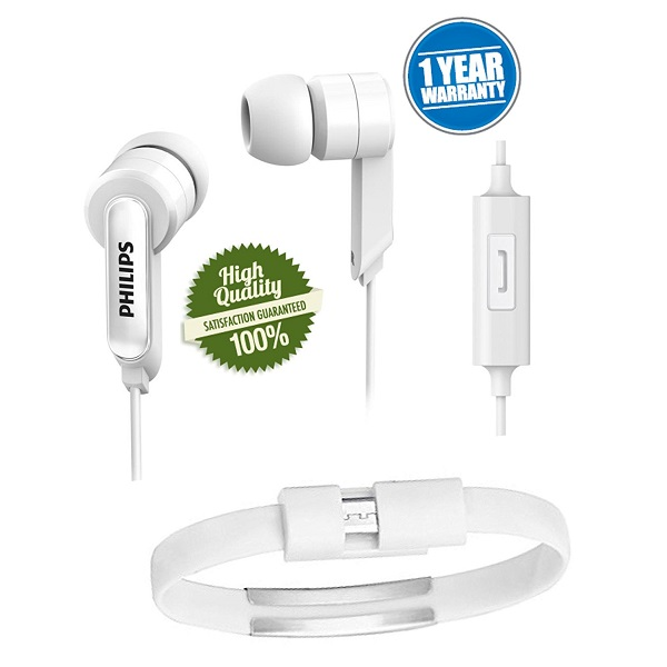 Hunky 1405 Earphones With Micro USB Wrist Band Cable