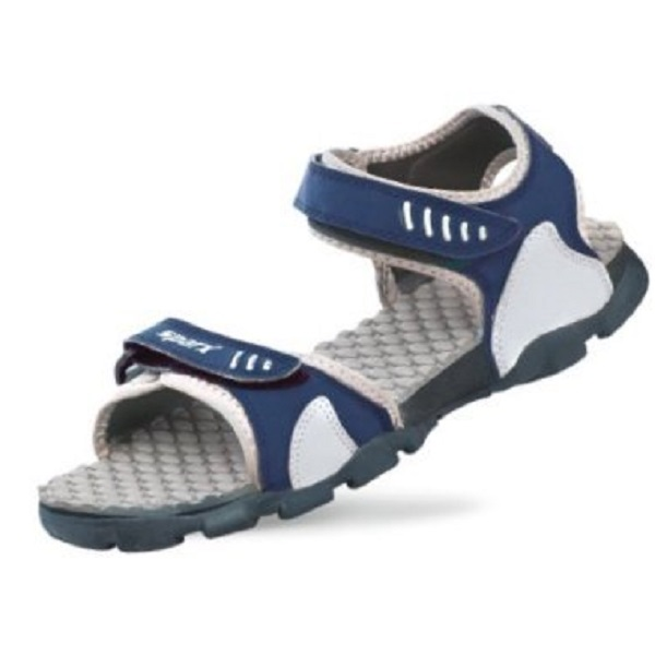 Sparx Mens Navy Blue and Light Grey Sandals