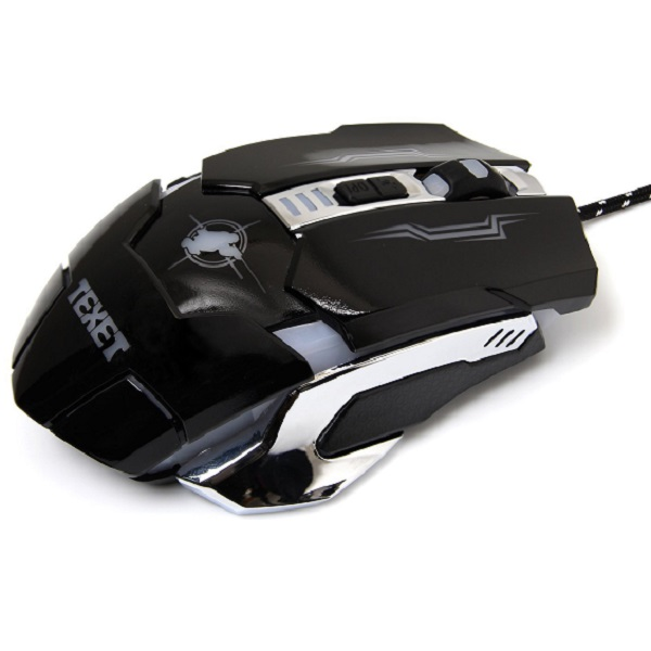 TEXET USB Wired Optical Gaming Mouse
