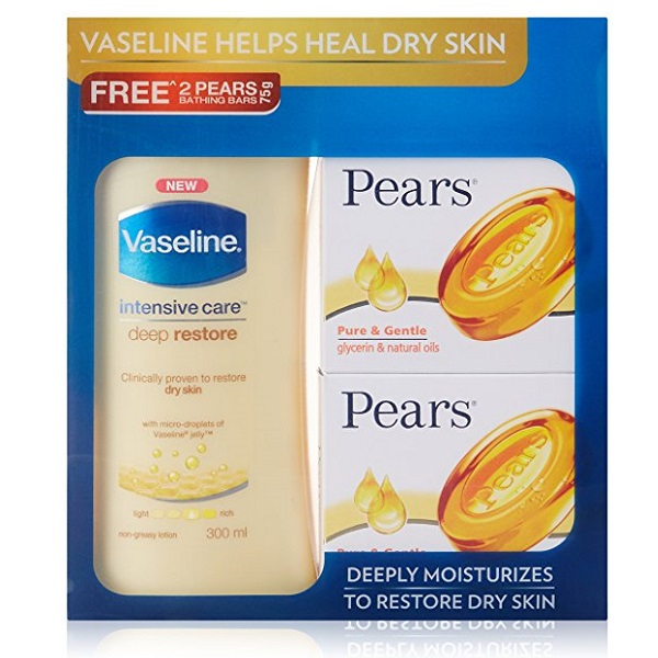 Vaseline Intensive Care Deep Restore Body Lotion