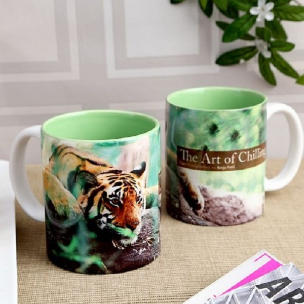 Hot Muggs Wild Focus Art of Chilling Ceramic Mug