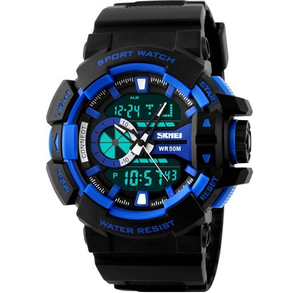 Skmei S072C0 Analog Digital Watch