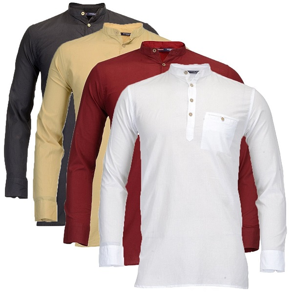Feed Up Mens Kurtas Pack of 4