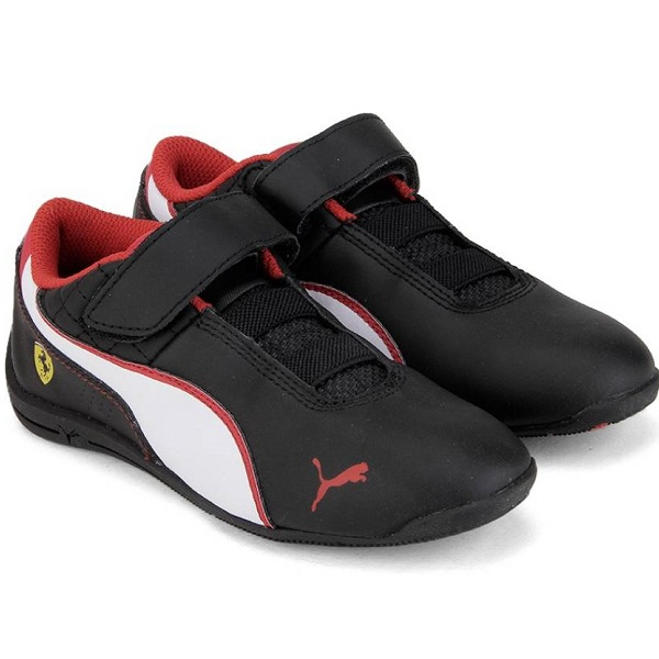 Puma Boys Black Shoes