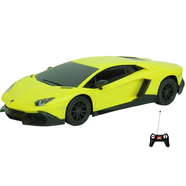 Toyhouse Lamborghini Rechargeable Rc Cary Yellow