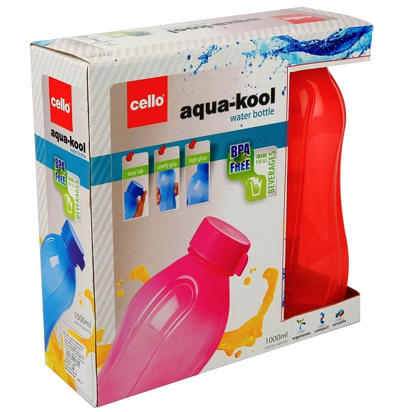 Cello Aqua Kool Plastic Bottle Set