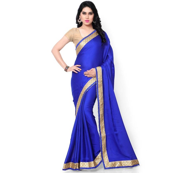 sarvagny clothing Solid Fashion Jacquard Sari