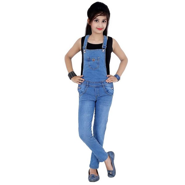 Sunday Casual Dungaree For Girls