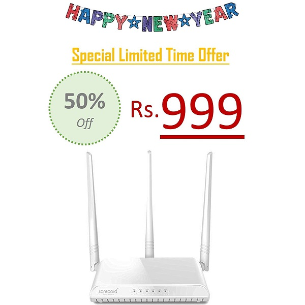 SansCord RNH326 300 Mbps Wireless Router