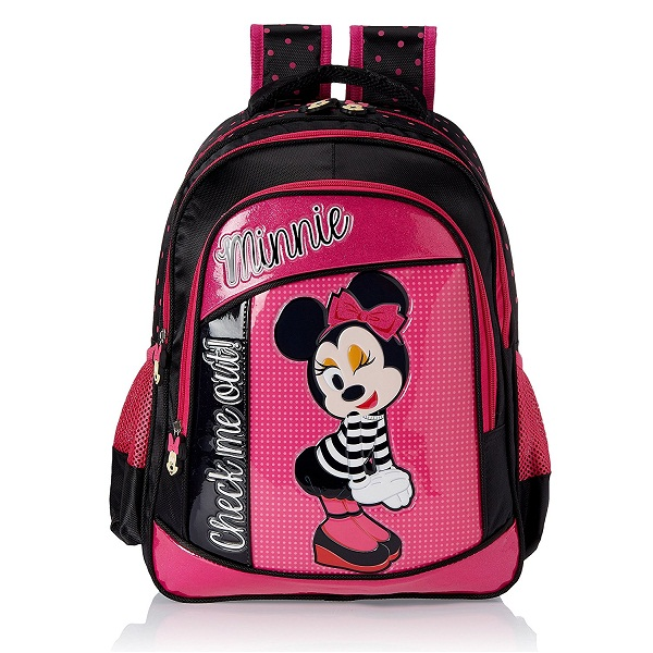Minnie Pink Childrens Backpack