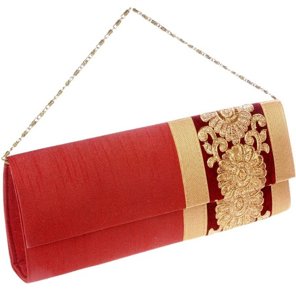 SlingOn Red Clutch