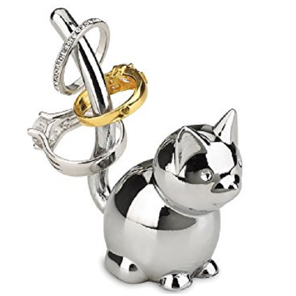 Umbra Zoola Metal Cat Ring Holder