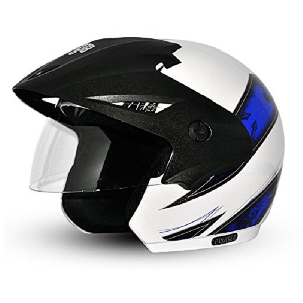 Vega Cruiser Open Face Graphic Helmet