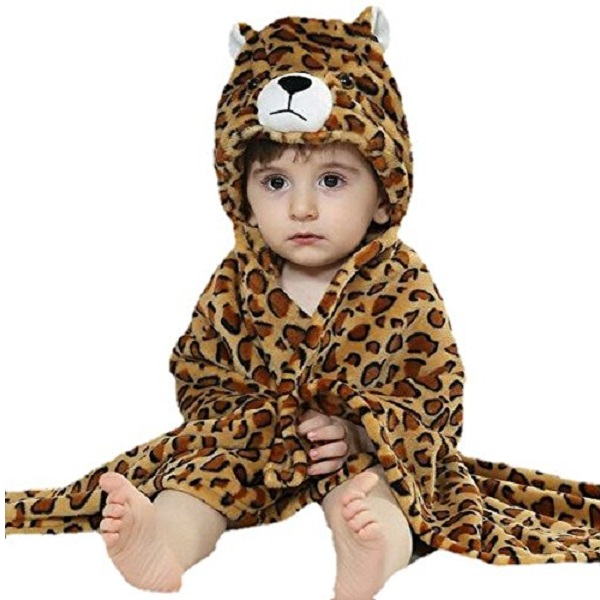 Brandonn Premium Hooded Tiger Printed Blanket