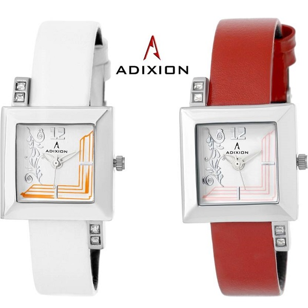 ADIXION AD9405SL2838A COMBO Analog Watch For Girls