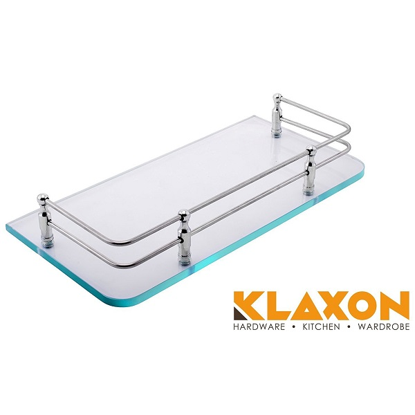 Klaxon 12x6 Bathroom Front Glass Shelf
