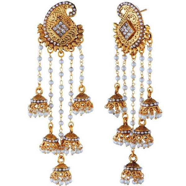 Tatva Exclusive American Diamond Based Designer Earrings