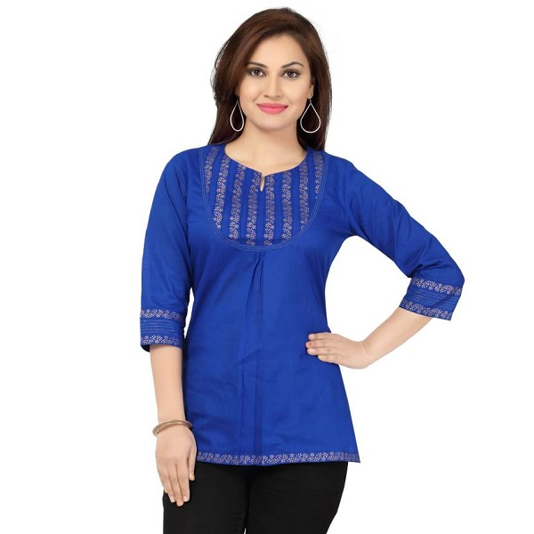 Meher Impex Casual Solid Womens Kurti