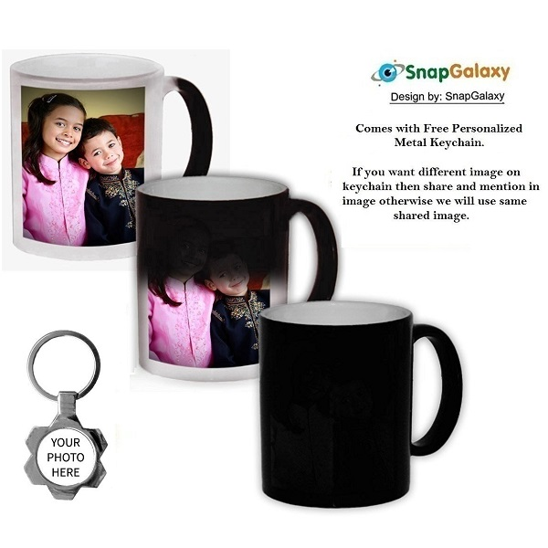 Magic Color Changing Photo Mug