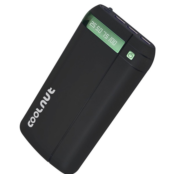 COOLNUT Battery Charger Power Bank 20000mAh