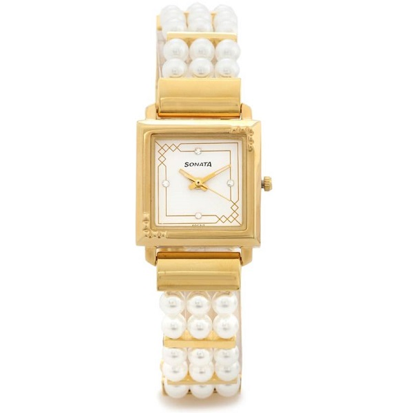Sonata 8086YH01 Analog Watch For Women