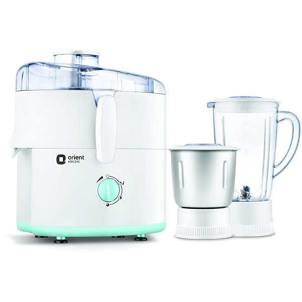 Orient Electric 450W Juicer Mixer Grinder with 2 Jars