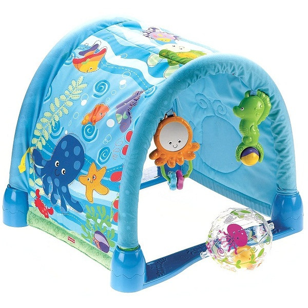Fisher Price Ocean Wonders Kick and Crawl Gym