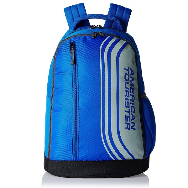 American Tourister Casper Blue Casual Backpack