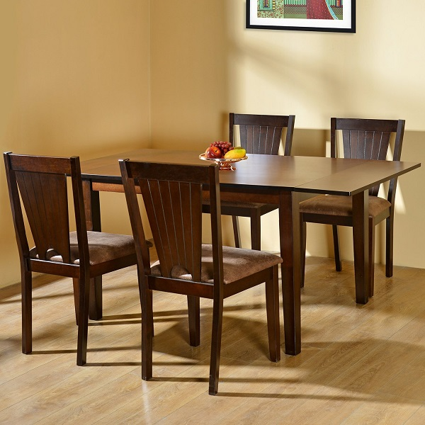 home by Nilkamal Four Seater Dining Table Set