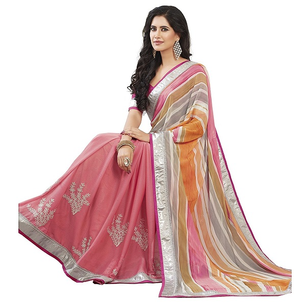 Oomph Georgette Sarees