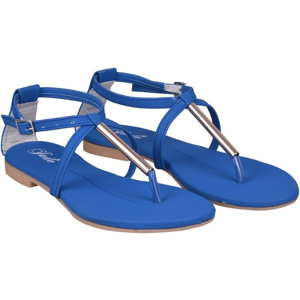 Jade Women Blue Flats