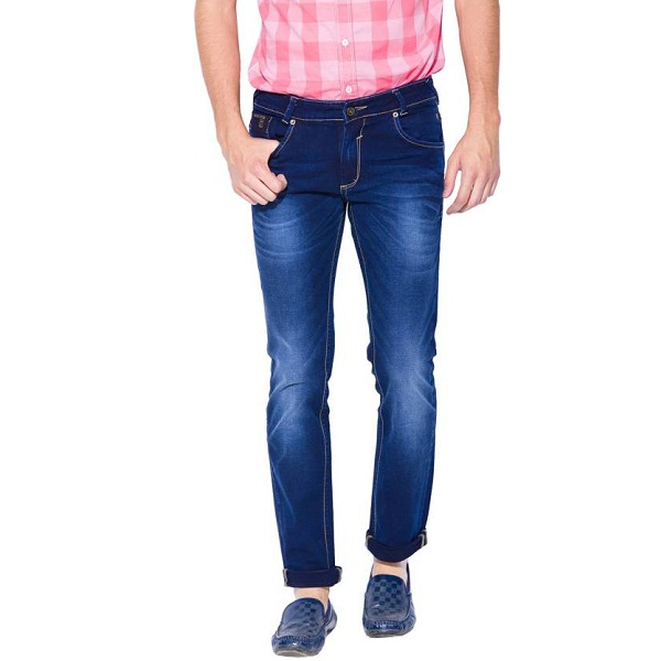 Mufti Slim Mens Blue Jeans
