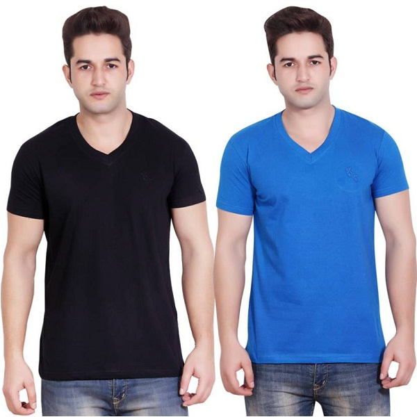 LUCfashion T Shirt Pack of 2