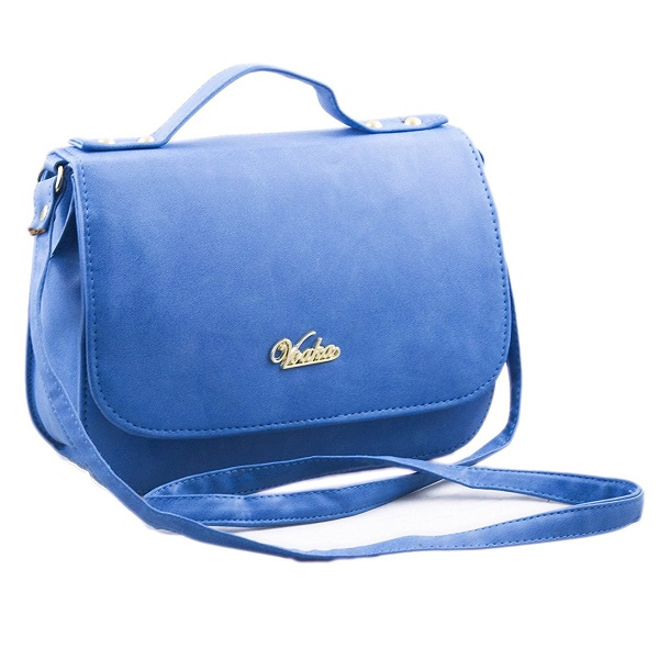 Voaka Womens Blue Sling Bag