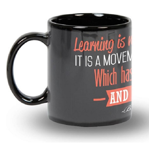 Posterboy Learning Bruce Lee Ceramic Mug
