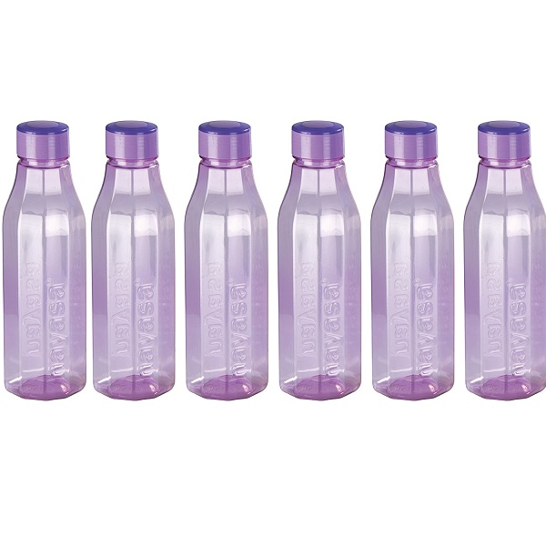 Nayasa Bold PET Fridge Bottle Set of 6