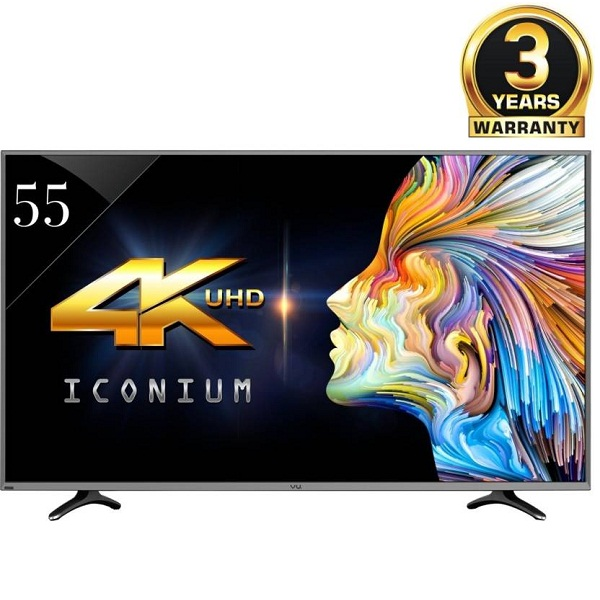 Vu 55Inch Ultra HD 4K Smart LEDTv