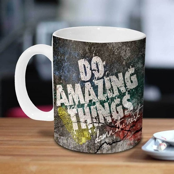 Hot Muggs Do Amazing Things Ceramic Mug