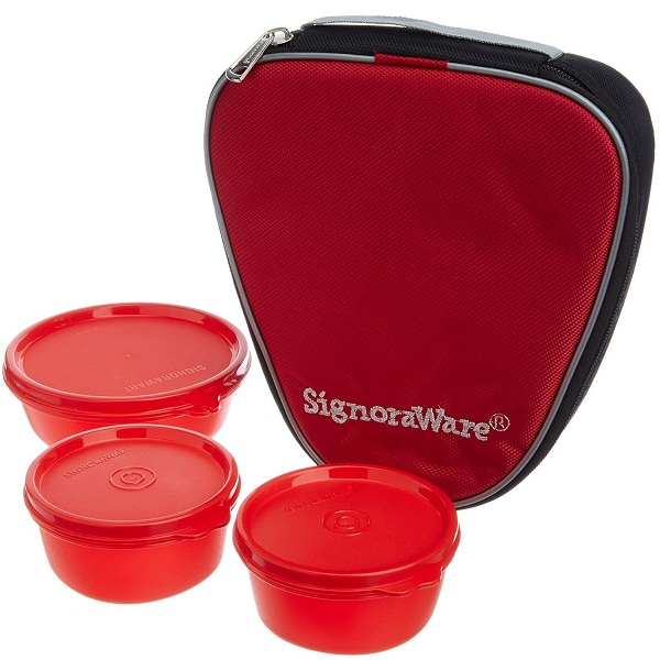 Signoraware Sleek Lunch with Bag