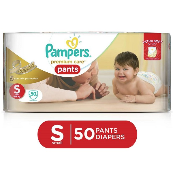 Pampers Premium Care Pants Diapers 50 Pieces