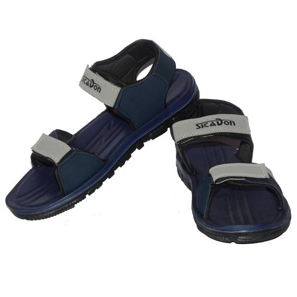 Sicadon Men Navy Sandals