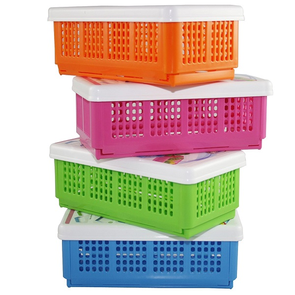 CSM Set of 4 Flexi Fold Space Saving Multipurpose Boxes