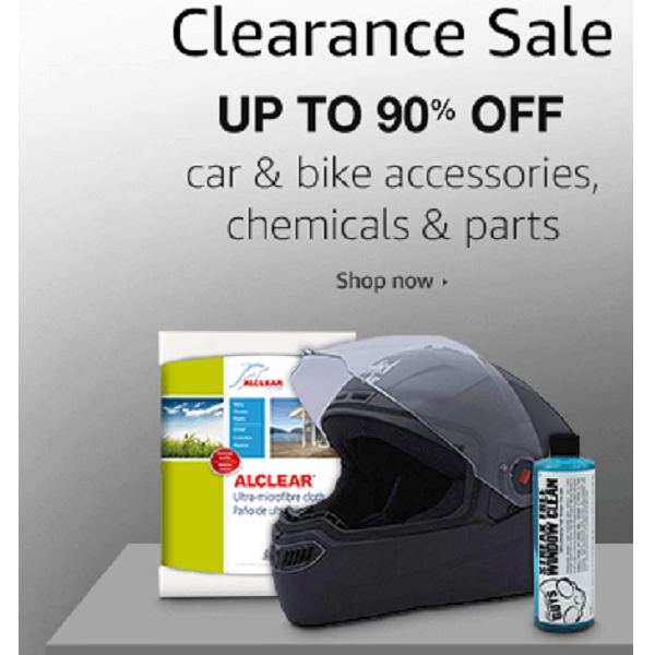 Automotive Accessories Clearance Sale